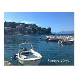 Kassiopi, Corfu. Postcard