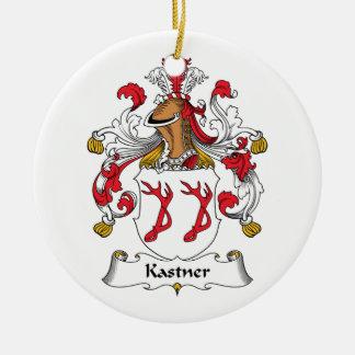 Kastner Family Crest Ceramic Ornament