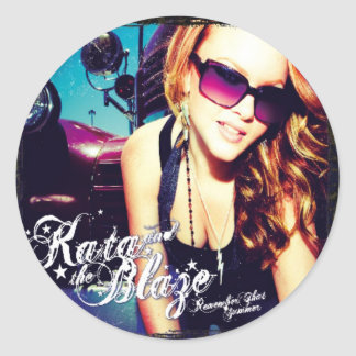 Kata & The Blaze - Remember That Summer Sticker