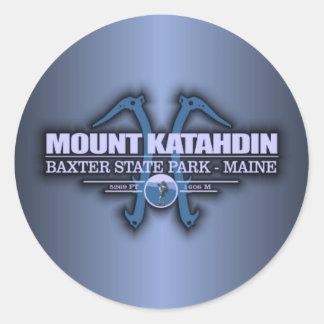 Katahdin 2 round sticker