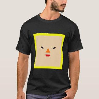 Katamari Prince face black T-Shirt
