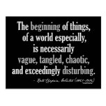 Kate Chopin Quote Post Card
