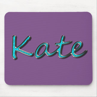 Kate_Chrome Blue Green Mouse Pad