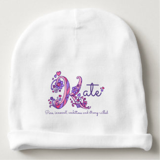 Kate girls name & meaning baby hat baby beanie