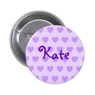 Kate in Purple 2 Inch Round Button