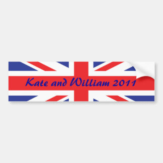 /Kate l'épousant royal et William Autocollant De Voiture