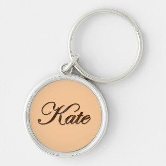 KATE Name-Branded Gift Key-chain or Zipper-pull Keychain