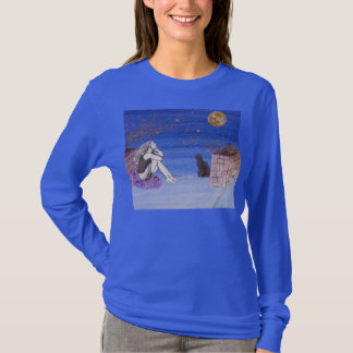 Kate on the Rooftop - Fantasy Self Portrait - t-sh T-Shirt