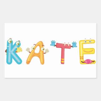 Kate Sticker