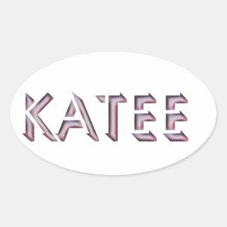 Katee sticker name
