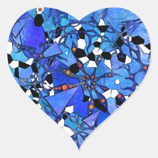 Katelous - frozen snake world heart sticker
