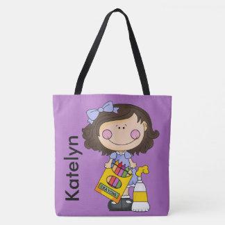 Katelyn's Crayon Personalized Tote