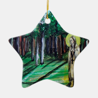 Kateri Tekakwitha Ceramic Ornament