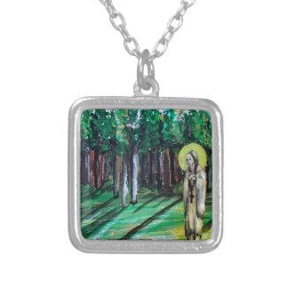 Kateri Tekakwitha Silver Plated Necklace