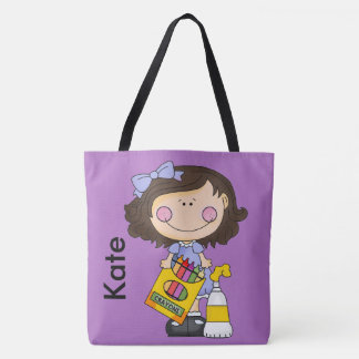 Kate's Crayon Personalized Tote