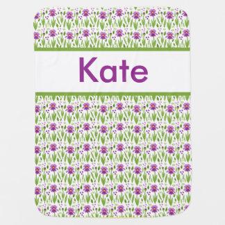Kate's Personalized Iris Blanket