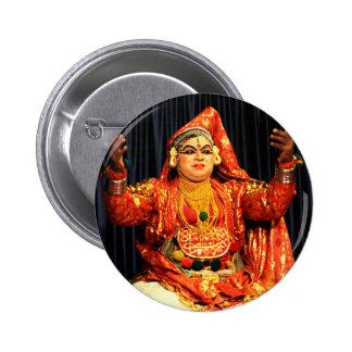 kathakali Artist 2 Inch Round Button