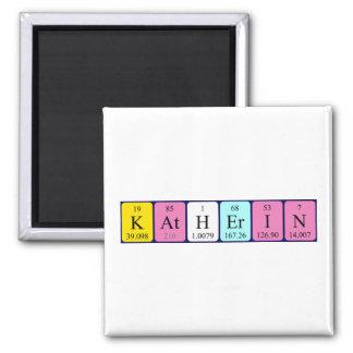 Katherin periodic table name magnet