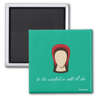 "Katherine Parr ""Useful in all I Do"" Magnet"