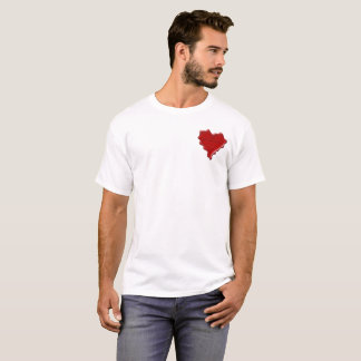 Katherine. Red heart wax seal with name Katherine. T-Shirt