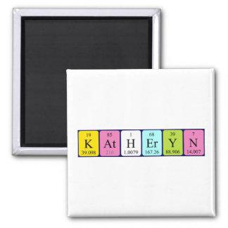 Katheryn periodic table name magnet