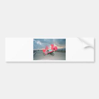 Kathlee's Key West Tacky Scooter Bumper Sticker