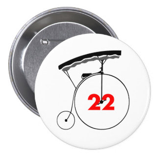 Kathy in Harmony 22 3 Inch Round Button