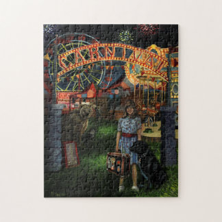 Kathy Joins the Carnival Jigsaw Puzzle