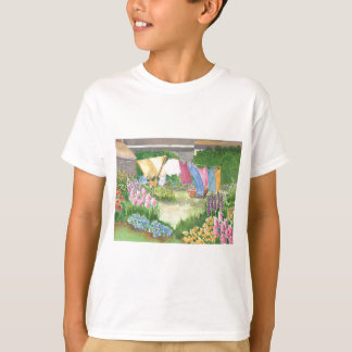 Kathy's Laundry on Monhegan Kids teeshirt T-Shirt