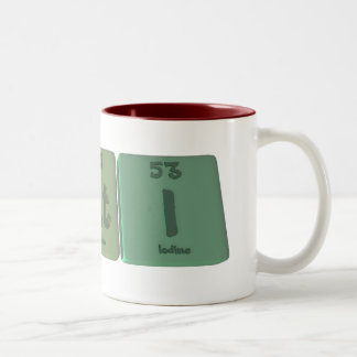 Kati  as Potassium Astatine Iodine Two-Tone Coffee Mug