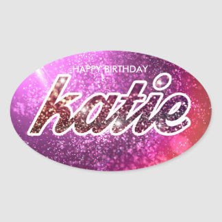 Katie Birthday Sticker