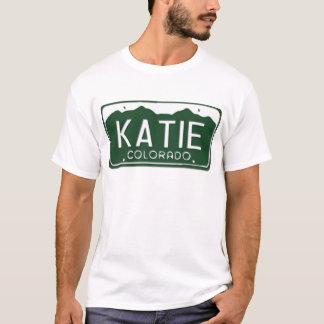 KATIE Colorado License Plate T-Shirt