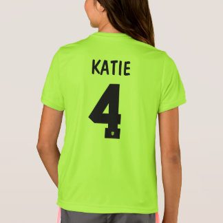Katie - I Play Like a Girl T-Shirt