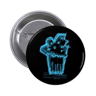 Katieboy button cupcake blue