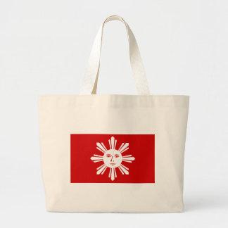 Katipunan Revolution Flag Jumbo Tote Bag
