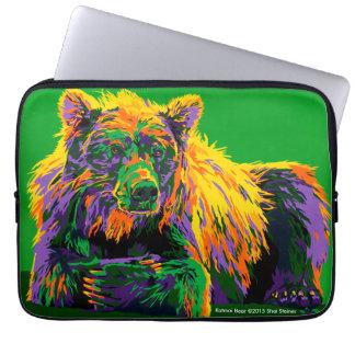 Katmai Bear laptop sleeve
