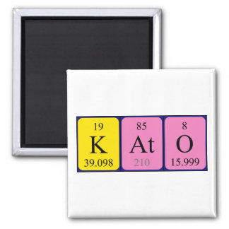 Kato periodic table name magnet