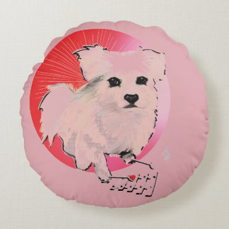 Kato Xylophone Player Round Pillow
