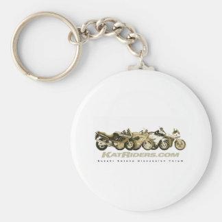 Katriders Sepia Gear Keychain