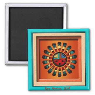 Katsina Sun Face Magnet