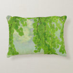 Katsura Tree Limbs in Springtime | Seabeck, WA Accent Pillow