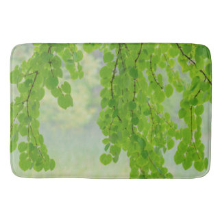 Katsura Tree Limbs in Springtime | Seabeck, WA Bath Mat