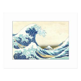 Katsushika Great Wave off Kanagawa Postcards
