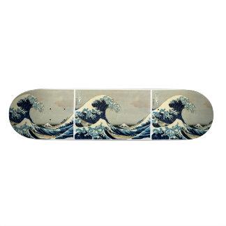 Katsushika Hokusai's Great Wave off Kanagawa Skateboard Decks
