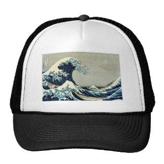 Katsushika Hokusai's Great Wave off Kanagawa Trucker Hat