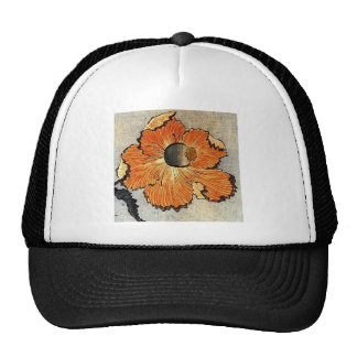 Katsushika Hokusai's Poppies Trucker Hat
