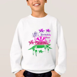 Katsushika north 斎 collage 1 sweatshirt