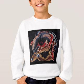 Katsushika north 斎, eight one glare Houou figures Sweatshirt