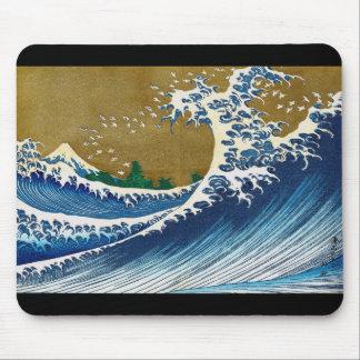 Katsushika north 斎, 'unique' wealth of sea 嶽 mouse pad