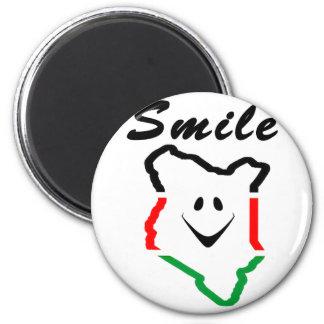 KattCraft: Kenyan Smile Magnet